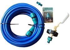 10m Mains water adapter kit for Aquaroll - Caravan + 10 mtr Food Grade Hose