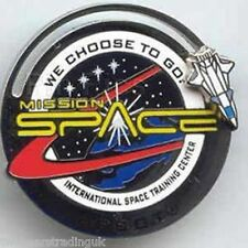 Disney Pin: WDWMission Space: International Space Training Center (New/Card)