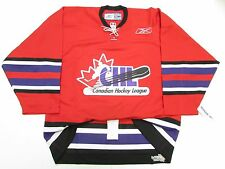CHL TOP PROSPECTS GAME AUTHENTIC PRO RED REEBOK HOCKEY JERSEY SIZE 54
