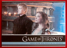 GAME OF THRONES - NOW HIS WATCH IS ENDED - Season 3, Card #10 - Rittenhouse 2014