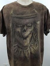 vintage horror shirt scarecrow size large 1489
