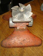 New listing Vintage Squaresprayer Red Metal Garden Hose /Lawn Sprinkler Take A Lqqk!