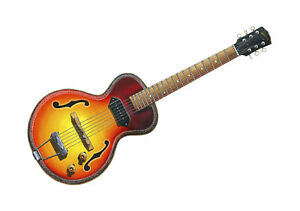 John Mayall Custom Gibson ES-125 POSTER PRINT A1 size