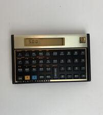New ListingHewlett Packard Hp 12c Financial Calculator With Case Sleeve
