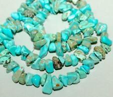 "4-7mm freeform turquoise loose beads strand gemstones Diy jewelry#16"""