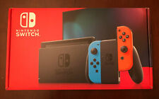 Nintendo Switch 32GB Neon Red/Neon Blue Console NEW AND UNUSED