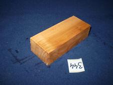 Kirsche Kirschholz Messergriff  Messergriffblock 120 x 45 x 31 mm  Nr. 344