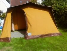 Retro Canvas Frame Tent 2 Berth immaculate condition and 70's print