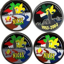 Boy Scout/Girl Guide Badges NICES Nederweert NETHERLANDS x 4