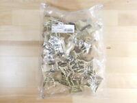 (20) BRAND NEW - BAG OF 20xPCS Weidmuller SCHT 5 Term. Block Marker 0292460000