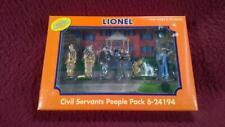 LIONEL 6-24194 PEWTER PAINTED - CIVIL SERVANTS PEOPLE FIGURES - NIB