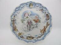 The Snowman's Motorbike Ride Plate - Royal Doulton - Excellent - Boxed