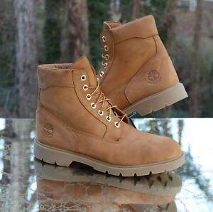 Timberland 6 Inch Basic Boots Men's Size 10.5 Waterproof Nubuck Wheat TB019079