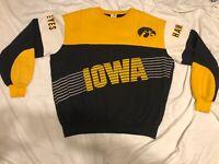 vintage university of iowa hawkeyes sweatshirt chalkline XL
