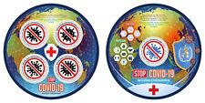 ZENTRALAFRIKA 2020 ** Stop Virus Rotes Kreuz Red Cross #19-312baC