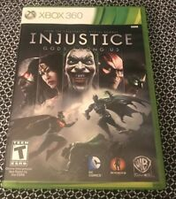 Injustice: Gods Among Us (Microsoft Xbox 360, 2013) GAME COMPLETE DC COMICS