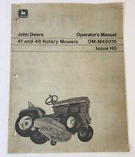 Heavy Equipment Manuals & Books for John Deere Mower for sale | eBay
