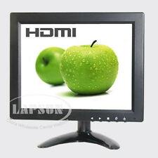 9.7 inch IPS LCD Color Monitor Screen HDMI VGA AV BNC Input Portable for PC CCTV
