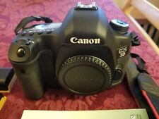 Canon EOS 5D Mark III Digital SLR Camera Mint Con Black(Body Only) + Accessories