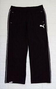 Puma Black Jogging Pants Drawstring adjustable for Men size Medium