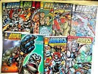 LOT of 10 books: BADROCK & Company 1-6  BADROCK 1 2  Grifter, Annual  NM Liefeld