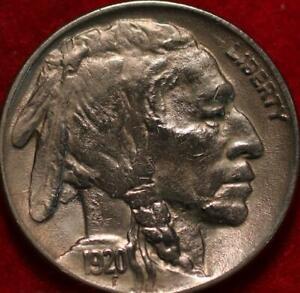 1920 Philadelphia Mint  Buffalo Nickel