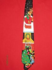 Men's Christmas 100% Silk Tie