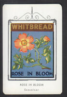 Whitbread - Inn Signs 3rd Card 1952 - # 29 Rose In Bloom - Seasalter