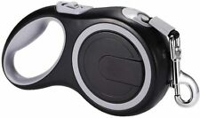 New listing Extra large Retractable dog leash 26ft Tangle Free Heavy Duty Pet Walking Black
