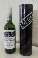 William Lawson's Martini & Rossi scotch whisky bottiglia box latta collezione