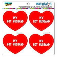 "Mag-Neato'Sâ""¢ Car Refrigerator Vinyl Magnet Set I Love Heart My G-L"