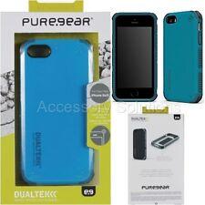 PureGear Apple iPhone 5 5S Dualtek Extreme Impact Rugged Case Caribbean Blue