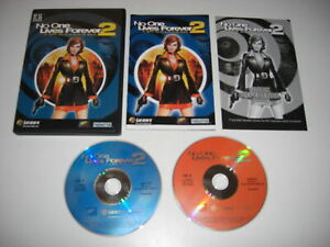 NO ONE LIVES FOREVER 2 A Spy In HARMS Way Pc Cd Rom Original NOLF - FAST POST