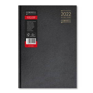 Cornell 2022 Diaries - A4 & A5 - Daily & Weekly - 3 Colours