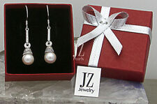 Freshwater Bridal Bell Pearl & Sterling Silver Earrings presented in a Gift Box