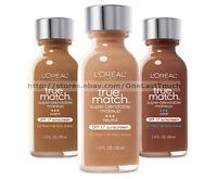 L'OREAL*True Match LIQUID Super-Blendable SPF17 Makeup FOUNDATION *YOU CHOOSE*1a