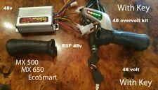 Razor rsf 650 48 volt overvolt Throttle Controller Electrical Kit- WITH KEY -