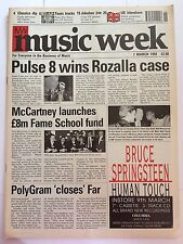 MUSIC WEEK MAGAZINE  7  MARCH 1992  UK HITMAKERS   LS