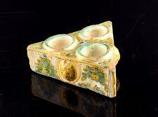 """Spices box. """"Polychromed series"""" ceramic"""". Talavera/Puente del Arzobispo, Spain,"""