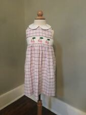 Silly Goose Handsmocked 4t Dress- Perfect Condition