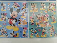 Stickers MICKEY, autocollant Mickey, 28 stickers ,adhésifs du monde de MICKEY