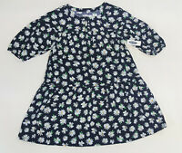 NWT Old Navy Kids Girls Size 5 6-7 8 or 10-12 Blue Daisy Flower Dress