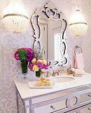 "NEW Stunning LARGE 43""  ORNATE Venetian Wall Vanity Hall Bath Mirror"
