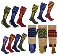 Jack Pyke Full Length Shooting Socks with Garters Breek Many Colours / designs