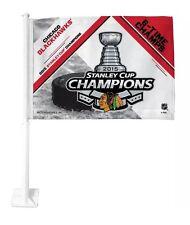 Chicago Blackhawks 2015 Stanley Cup Champions Car Flag Truck Banner