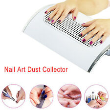 220V Nail Art Dust Suction Collector 3 Fans Vacuum Cleaner Manicure Dust Suction