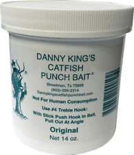 NEW! Danny Kings 50 Catfish Punch Bait- Original, 14 oz