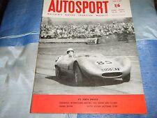 GOODWOOD International f1 1959 Stirling Moss Cooper IVOR Bueb Lister JAGUAR 3.4