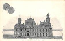CANADA, COIN POSTCARD, VIEW - CUSTOM HOUSE, ST. JOHN, NEW BRUNSWICK c 1902-08