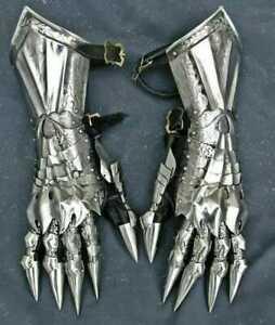 LOTR SCA LARP armor SOURON gauntlets larp armor sca armor fantasy
